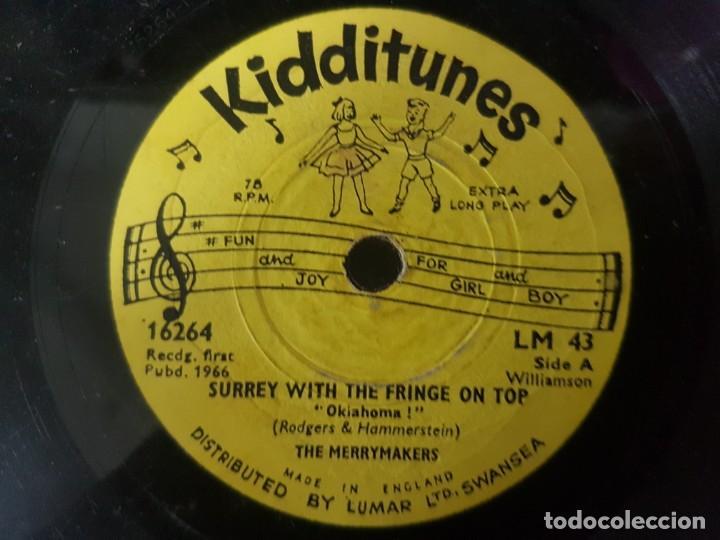 Discos de vinilo: Lote de 3 raros discos de música infantil - Singles 6 a 78 Rpm - Mirar fotos - Artistas varios 1966 - Foto 4 - 195208893