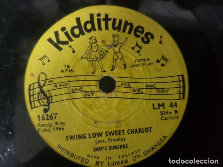 Discos de vinilo: Lote de 3 raros discos de música infantil - Singles 6 a 78 Rpm - Mirar fotos - Artistas varios 1966 - Foto 5 - 195208893