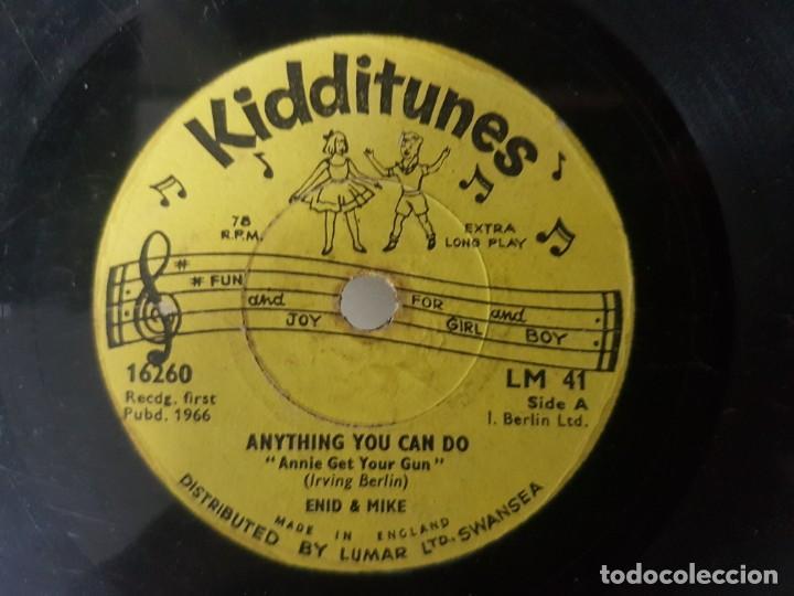 Discos de vinilo: Lote de 3 raros discos de música infantil - Singles 6 a 78 Rpm - Mirar fotos - Artistas varios 1966 - Foto 6 - 195208893
