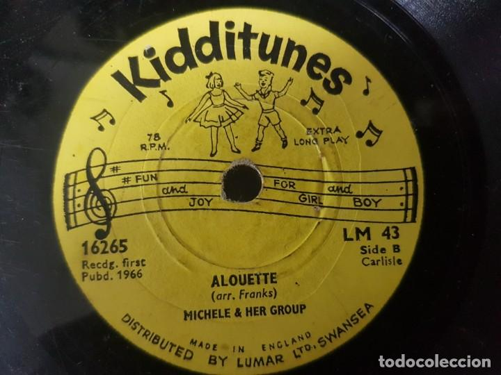 Discos de vinilo: Lote de 3 raros discos de música infantil - Singles 6 a 78 Rpm - Mirar fotos - Artistas varios 1966 - Foto 7 - 195208893