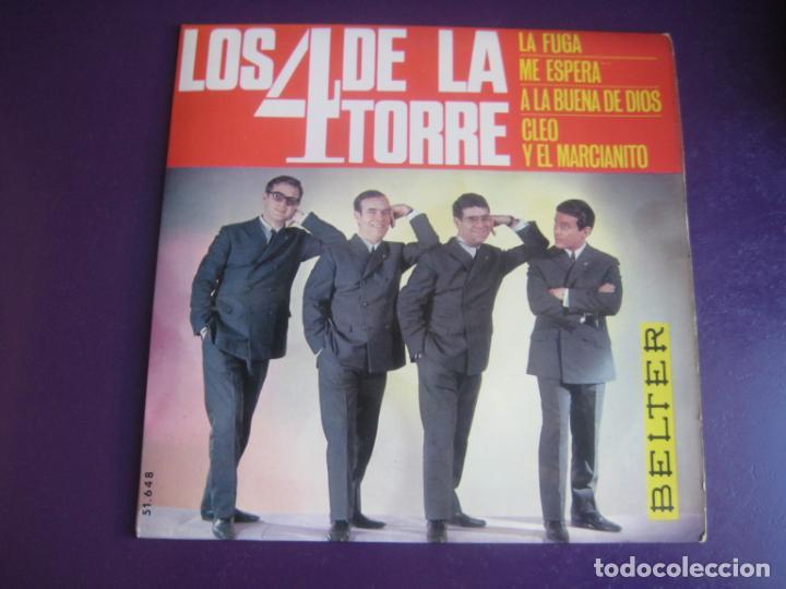 LOS 4 DE LA TORRE EP BELTER 1966 - CLEO Y EL MARCIANITO +3 POP 60'S - MAGO DE LOS SUEÑOS - MACIAN (Música - Discos de Vinilo - EPs - Grupos Españoles 50 y 60)