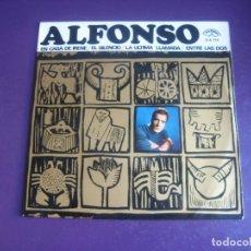 Discos de vinilo: ALFONSO EP ZAFIRO 1966 - EN CASA DE IRENE/ EL SILENCIO/ LA ULTIMA LLAMADA/ ENTRE LAS DOS - POP 60'S. Lote 195211798