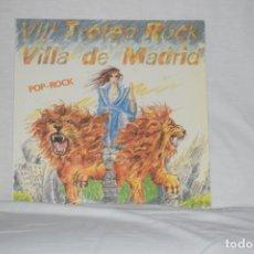 Discos de vinilo: VIII TROFEO ROCK VILLA DE MADRID - POP-ROCK MERCEDES FERRER LA LLAVE. Lote 195211951