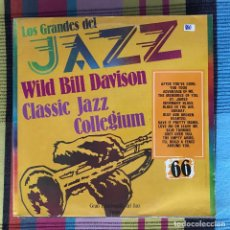 Discos de vinilo: WILD BILL DAVISON, CLASSIC JAZZ COLEGIUM - LOS GRANDES DEL JAZZ 66 - LP SARPE 1981. Lote 195212423