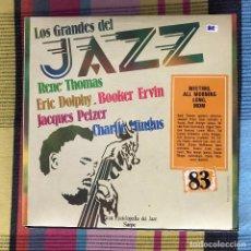 Discos de vinilo: RENÉ THOMAS, CHARLIE MINGUS - LOS GRANDES DEL JAZZ 83 - LP SARPE 1982. Lote 195212592