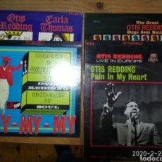 Discos de vinilo: 9 LP OTIS REDDING SOUL.. Lote 195212655