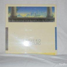 Discos de vinilo: POLVO MAGICO - PRIMERO ROCK DURO - IX TROFEO DE LA VILLA DE MADRID. Lote 195212656