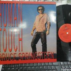 Discos de vinilo: BRUCE SPRINGSTEEN MAXI PROMOCIONAL HUMAN TOUCH ESPAÑA 1992 EN PERFECTO ESTADO. Lote 195213593