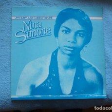 Discos de vinilo: NINA SIMONE,MY BABY JUST CARES FOR ME ALBUN DEL 82. Lote 195214503