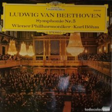 Discos de vinilo: L.VAN. BEETHOVEN SYMPHONIE NR. 5 WIENER PHILHARMONIKER - KARL BOHM. Lote 195215316
