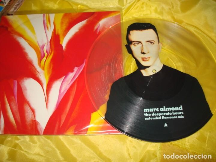 MARC ALMOND. THE DESPERATE HOURS. EXTENDED FLAMENCO MIX. PICTURE DISC. MAXI-SINGLE. IMPECABLE (#) (Música - Discos de Vinilo - Maxi Singles - Pop - Rock Extranjero de los 90 a la actualidad)
