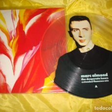 Discos de vinilo: MARC ALMOND. THE DESPERATE HOURS. EXTENDED FLAMENCO MIX. PICTURE DISC. MAXI-SINGLE. IMPECABLE (#). Lote 195216406