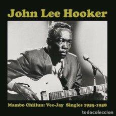 Discos de vinilo: JOHN LEE HOOKER MAMBO CHILUM, VEE-JAY SINGLES 1955-1958 LP . BLUES MUDDY WATER. Lote 195217247