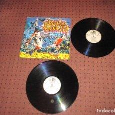 Discos de vinilo: SKATE BOARD - VARIOS ARTISTAS - 2 LP,S - SPAIN - BLANCO Y NEGRO - IBL - . Lote 195217433