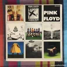 Discos de vinilo: PINK FLOYD - A NICE PAIR - LP DOBLE EMI HARVEST SPAIN 1986. Lote 195217582