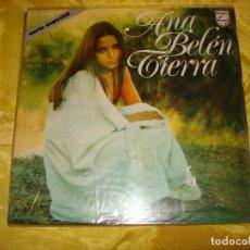 Discos de vinilo: ANA BELEN. TIERRA. PHILIPS, 1973. PORTADA ABIERTA. IMPECABLE (#). Lote 195217786