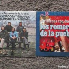 Discos de vinilo: LOTE DE EP Y SINGLE DE LOS ROMEROS DE LA PUEBLA-DE CORDOBA Y GRANADA-SEVILLANAS CON DUENDE VOL 2. Lote 195219048