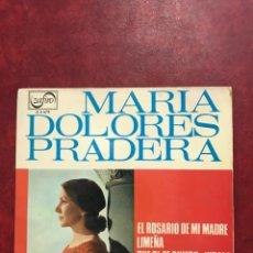 Discos de vinilo: MARIA DOLORES PRADERA SINGLE EP DE 1965. Lote 195219277