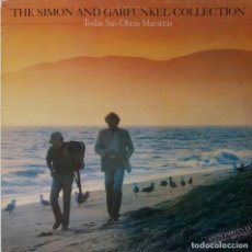 Discos de vinilo: SIMON AND GARFUNKEL. COLLECTION. TODAS SUS OBRAS MAESTRAS. LP ESPAÑA CON INSERTO. Lote 195219387