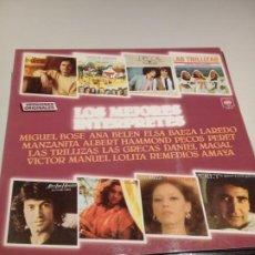 Discos de vinilo: LOTE DE 15 DISCOS DE VINILO VARIADOS EN BUEN ESTADO. Lote 195219837