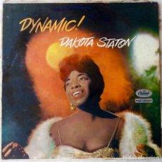 Discos de vinilo: DAKOTA STATON. DYNAMIC !. LP ORIGINAL USA. Lote 195219948