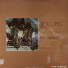 Discos de vinilo: JEAN COSTA - LOS MAESTROS DEL BARROCO DE ALEMANIA DEL SUR ANTERIORES A J.S.BACH - 1972. Lote 195220028
