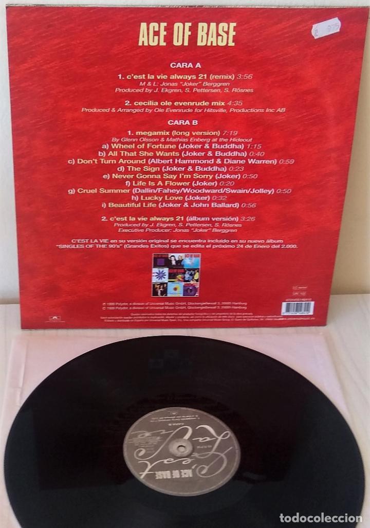 Discos de vinilo: ACE OF BASE - C´EST LA VIE (ALWAYS 21) POLYDOR - 1999 - Foto 2 - 195220157
