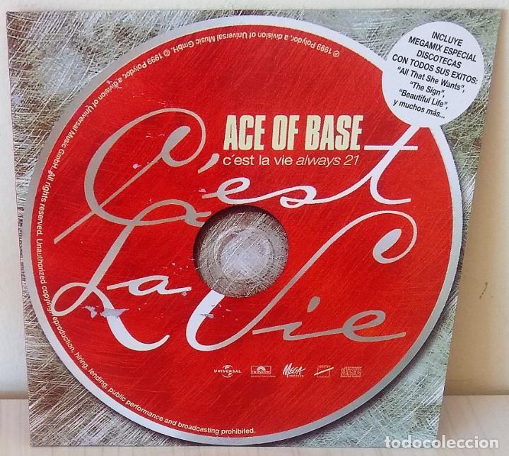 ACE OF BASE - C´EST LA VIE (ALWAYS 21) POLYDOR - 1999 (Música - Discos de Vinilo - Maxi Singles - Pop - Rock Extranjero de los 90 a la actualidad)