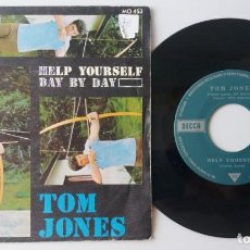 Discos de vinilo: TOM JONES / HELP YOURSELF / SINGLE 7 INCH. Lote 195220471