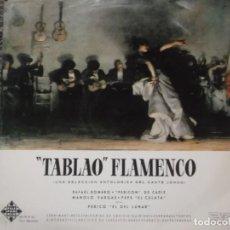 Discos de vinilo: TABLAO FLAMENCO-PERICON DE CADIZ-PEPE EL CULATA-ORIGINAL AÑO 1961-VINILO EN ESTADO EXCELENTE. Lote 195222376