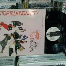 Discos de vinilo: LMV - CAPTAIN COCKTAIL. STOP TALKING NASTY. DON DISCO 1987, REF. DDP 1002 FUNK . Lote 195222521