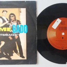 Discos de vinilo: COLOR ME BADD / HEARTBREAKER / SINGLE 7 INCH. Lote 195222998