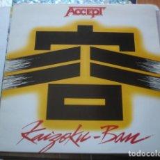 Discos de vinilo: ACCEPT KAIZOKU-BAN. Lote 195223490