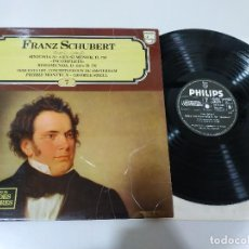 Discos de vinilo: SHUBERT SINFONIA N 8 INCOMPLETA ROSAMUNDA - LP VINILO VG/VG. Lote 195224685