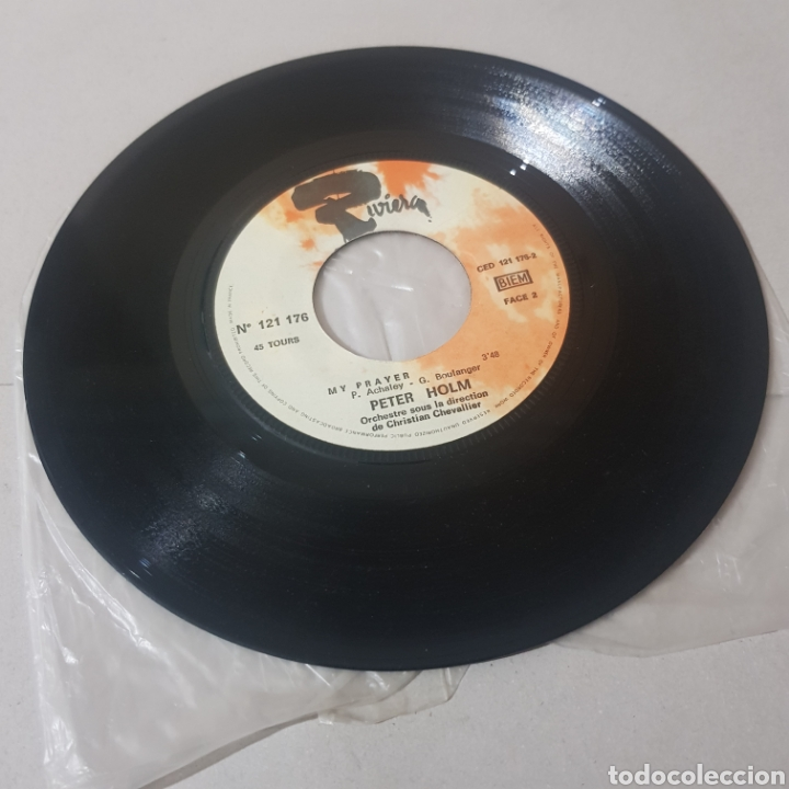 Discos de vinilo: PETER HOLM - MONIA - MY PRAYER - RIVERA - Foto 3 - 195224771