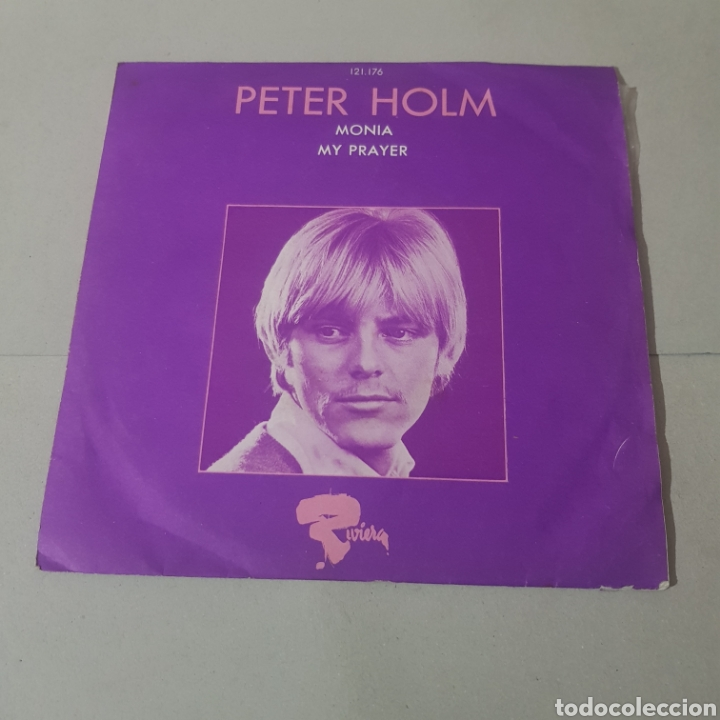 PETER HOLM - MONIA - MY PRAYER - RIVERA (Música - Discos - Singles Vinilo - Pop - Rock Extranjero de los 50 y 60)