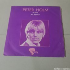 Discos de vinilo: PETER HOLM - MONIA - MY PRAYER - RIVERA. Lote 195224771