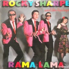 Discos de vinilo: ROCKY SHARPE AND THE REPALYS-RAMA LAMA-ORIGINAL ESPAÑOL 1979. Lote 195225127