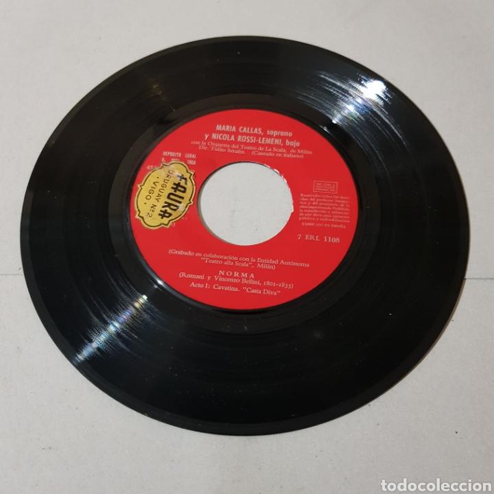 Discos de vinilo: NORMA ( ROMANI Y VICENZO BELLINI ) SOPRANO MARIA CALLAS - Foto 3 - 195225978
