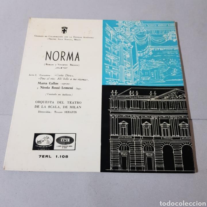 Discos de vinilo: NORMA ( ROMANI Y VICENZO BELLINI ) SOPRANO MARIA CALLAS - Foto 5 - 195225978