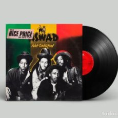 Discos de vinilo: ASWAD ?– NOT SATISFIED - UK 1982 + 10 PULGADAS. Lote 195227075