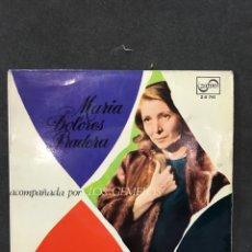 Discos de vinilo: MARIA DOLORES PRADERA SINGLE EP DE 1967. Lote 195227601