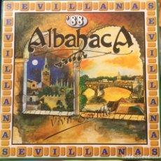 Discos de vinilo: ALBAHACA, ECOS DE LAS MARISMAS. Lote 195227908