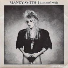 Discos de vinilo: MANDY SMITH - I JUST CAN'T WAIT. Lote 195228080