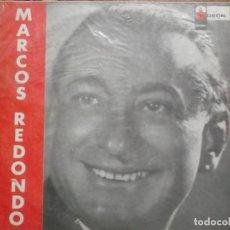 Discos de vinilo: MARCOS REDONDO-LA CANCION DEL OLVIDO. Lote 195228225