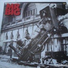 Discos de vinilo: MR. BIG LEAN INTO IT. Lote 195228486