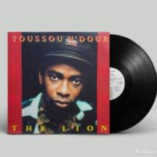 Discos de vinilo: YOUSSOU N'DOUR – THE LION - ESPAÑA 1989. Lote 195229106