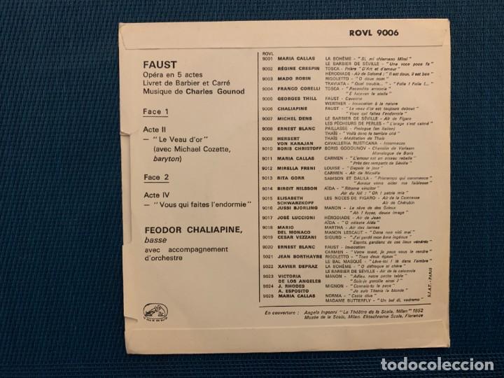 Discos de vinilo: Herbert Von Karajan, Philharmonia Orchestra – Invitation A L Opera Sello: His Masters Voice – RO - Foto 2 - 195229136