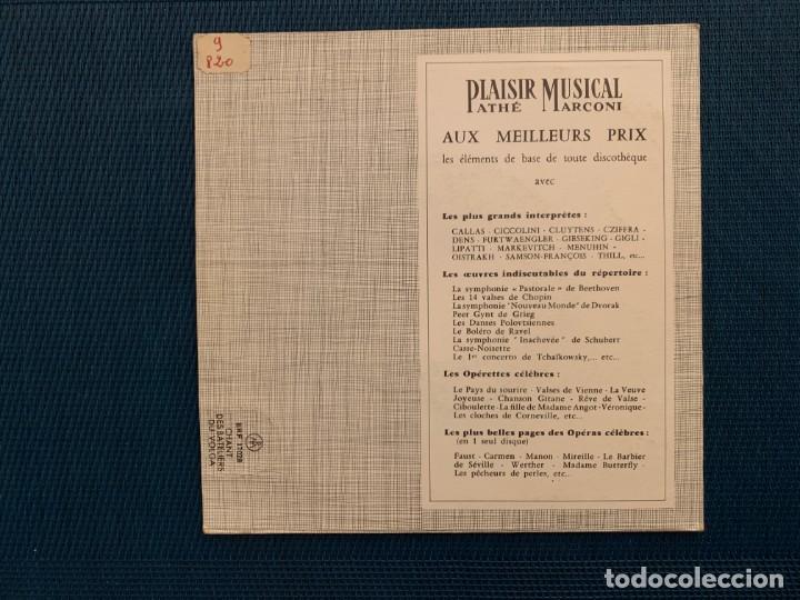 Discos de vinilo: Boris Christoff – Chant Des Bateliers Du Volga Sello: La Voix De Son Maître – ERF 17028, La Voix D - Foto 2 - 195229293
