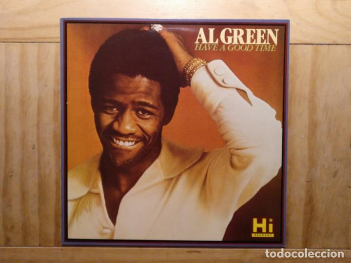 Discos de vinilo: Al Green – Have A Good Time UK 1986 - Foto 2 - 195230881